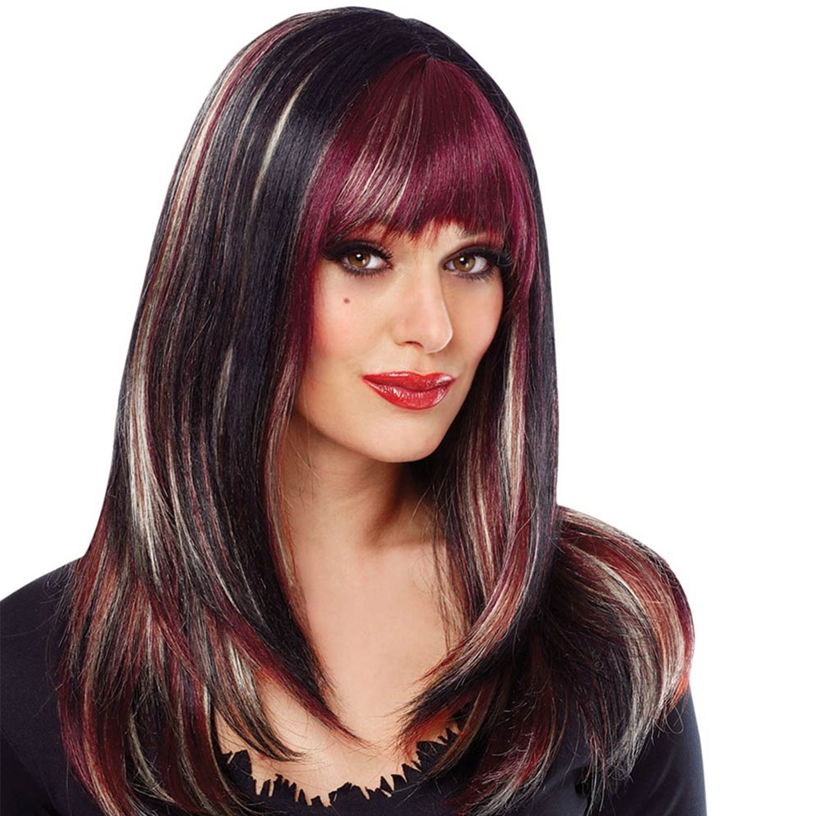 20 Hottest New Highlights for Black Hair - PoPular Haircuts Highlights in red hair pictures