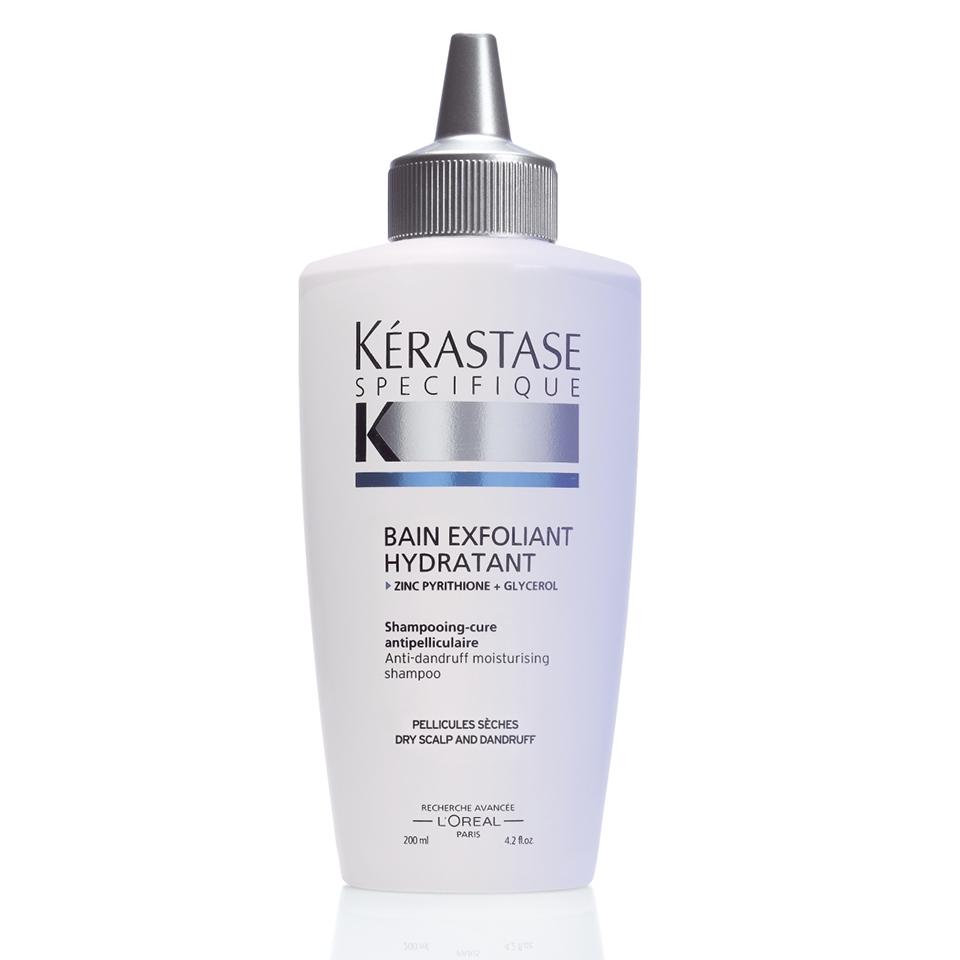 KERASTASE BAIN EXFOLIANT HYDRATANT Shampooing-Cure Antipelliculaire Dry Scalp And Dandruff ( Kuru Saç Derisi İçin Kepek Önleyici şampuan 250 ml )