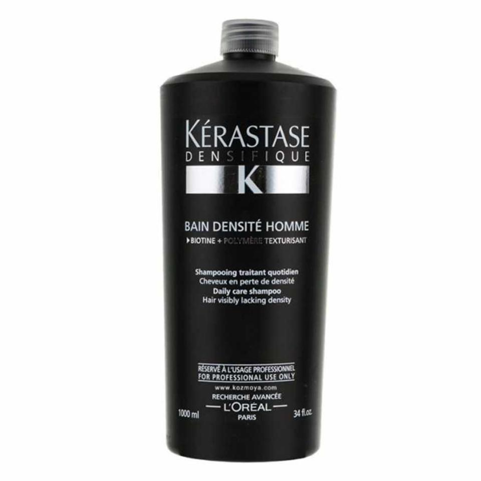 KERASTASE BAIN DENSITE HOMME Densifique ( Dökülen Saçlar İçin Yoğunlaştırıcı Şampuan 1000 ml )