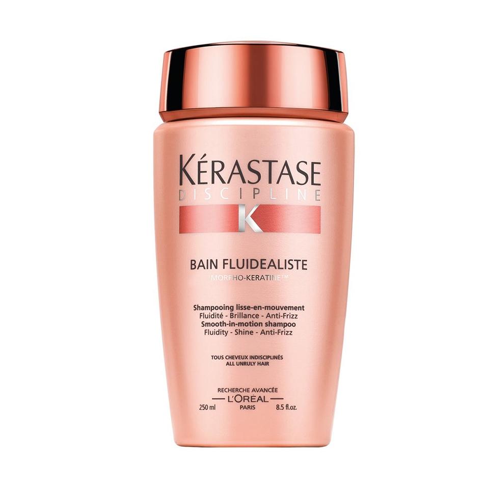 KERASTASE BAIN FLUIDEALISTE Fluidity, Shine, Anti-frizz ( Asi ve Kabarık Saçlar İçin Sülfatsız Düzleştirici Parlaklık Şampuanı 250ml )